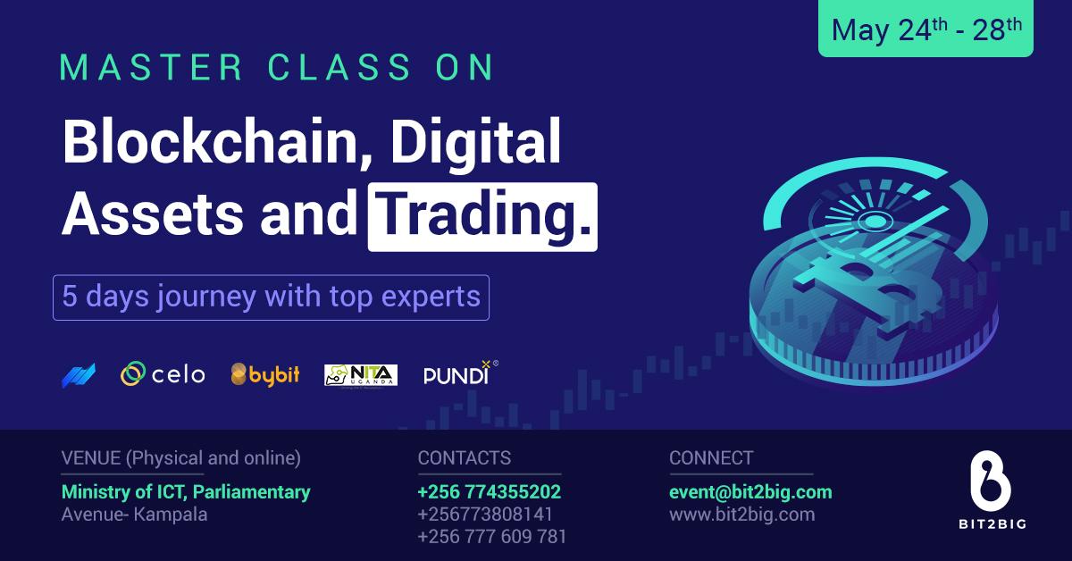 1st Masterclass - Blockchain, Trading